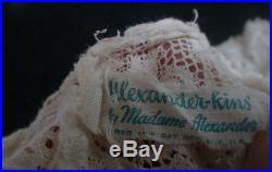 Vintage 1960s Madame Alexander Kins CROCHET LACE DRESS HAT SLIP Pink Bow Wendy