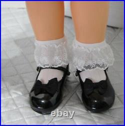 Vintage 1961 32 Ideal Penny PlayPal Nylon Pink Dress Slip Panties shoes socks