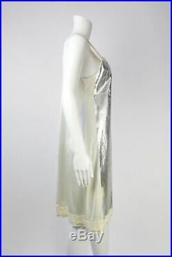 Vintage 2003 Foil Slip Dress New O/s Original Hang Tags Maison Martin Margiela