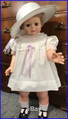 Vintage 31 Tall- Eugene Doll-Saucy Walker In A Jacket And Dress. Shoes Slip