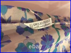 Vintage 60s Emilio Pucci for Formfit Rogers Sexy Slipdress Size S
