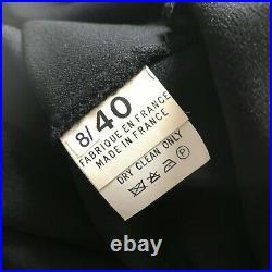 Vintage 90s John Galliano Black Satin Star Midi Slip Bias Cut Draped Dress M/40