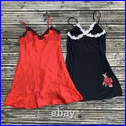 Vintage 90s / Y2k Lingerie Wholesale Joblot Slip Dress Corset Bundle, 20 PIECES