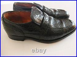 Vintage Alan McAfee of England Slip On Shoes UK 7 F Leather Hide