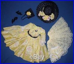 Vintage Alexander Dress Slip Pants Hat Shoes Bag For Cissy Doll Fit 20 Tall