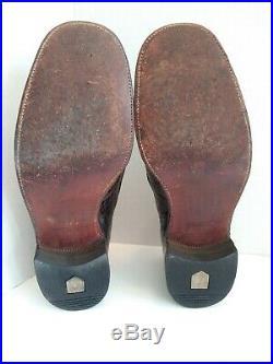 Vintage Avante Genuine Turtle Loafers Slip On Dress Shoes Mens Size 8 D Exotic