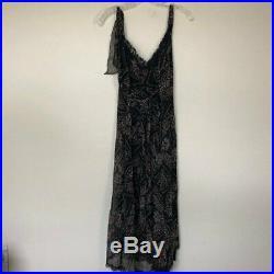 Vintage BETSEY JOHNSON Silk Chiffon Slip Dress 12