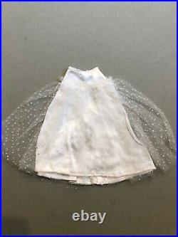 Vintage Barbie BEAUTIFUL BRIDE # 1698 Dress, Veil, & Slip! 1967