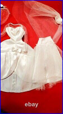 Vintage Barbie Beautiful Bride #1698 1967 TLC Dress Slip