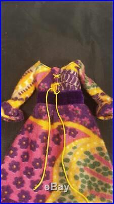 Vintage Barbie Mod Dressy Dress #3438 and Slip Beautiful