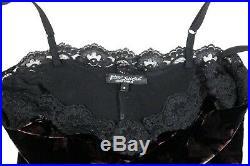 Vintage Betsey Johnson Velvet Slip Dress Goth Lace Floral Gypsy Witch Prom 90's