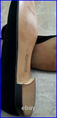 Vintage Carroll & Co Velvet Crown Slip On Loafers Shoes Men Uk Size 11m