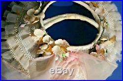 Vintage Child Baby Clothing Dress Slip Hat Bonnet Socks Patti Playpal Size