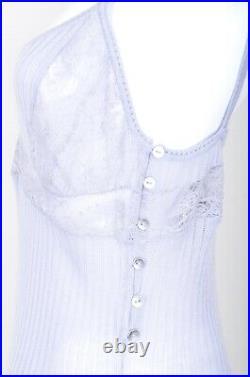Vintage Christian Dior Boutique Paris Slip Lace Dress Size Us 10 Fr 42