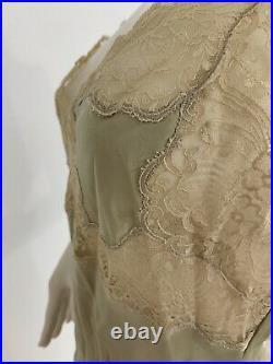 Vintage Christine Proenza San Francisco Silk Slip, Slip Dress Size Medium