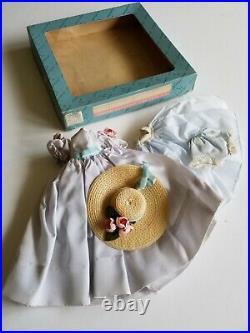 Vintage Cissette Madame Alexander Dress Slip Undies Hat Tagged- In Box