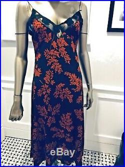 Vintage Dolce & Gabbana Iconic Sexy Lace Bodice Silk Slip Dress 42/s/m 8