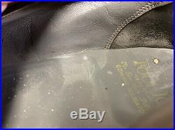 Vintage FootJoy Genuine Alligator Slip On Dress Shoes Black Leather Sz 10