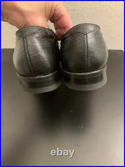 Vintage Footjoy Lizard Skin Tassled Oxford Loafer Slip On Shoes Men's 9.5 E