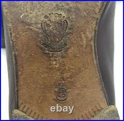 Vintage Gucci Burgundy Leather Tassle Slip On Loafers US 12M Euro 45