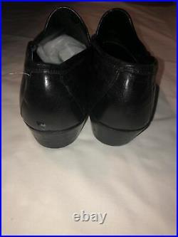 Vintage Gucci Mens Black Horsebit Leather Slip On Loafers- Size EU 42 D/US 8.5