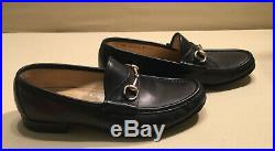 Vintage Gucci Mens Horse Bit Driving Loafers Slip On Shoes Size 45 E(12 Us) Vgc