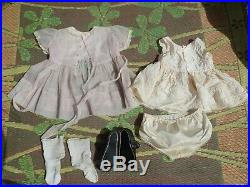 Vintage IDEAL 32 PENNY Playpal sister Patty DOLL w Orig Dress slip shoes