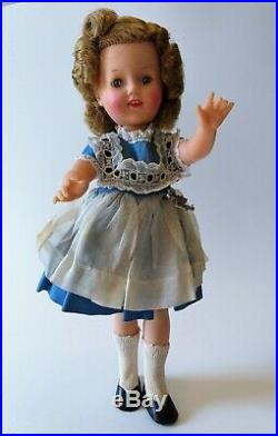 Vintage Ideal Shirley Temple Doll ST-12 Shoes Socks Dress Panties Slip 12