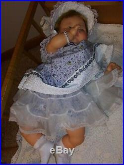 Vintage Ideal THUMBELINA 0TT-19 DOLL Moves! New dress & shoes old slip & rattle