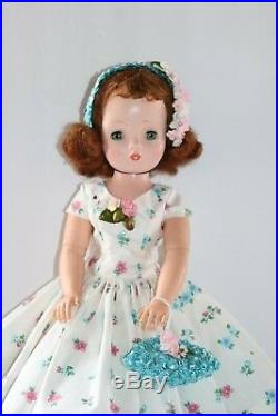 Vintage Inspired Day Dress Slip Hat And Purse For Madame Alexander Cissy Doll