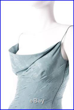 Vintage John Galliano 90s Floral Damask Slip Dress