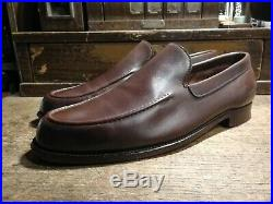 Vintage John Lobb'Chester' Leather Slip On Loafers UK9 RRP£1050+ Brogues Shoe