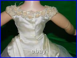 Vintage Madame Alexander Cissy Bride Dress Gown Veil Slip and Panties Tagged