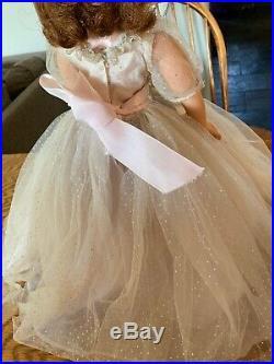 Vintage Madame Alexander Cissy Tagged Garden Party Bridesmaid Dress Slip #2160