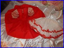 Vintage Madame Alexander Doll Rumba Dress and Vintage Slip