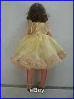 Vintage Madame Alexander LISSY Doll Original Tagged Dress, Shoes, Stockings, Slip