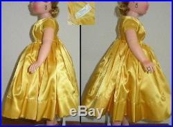 Vintage Madame Alexander Outfit For Cissy Doll 20 Dress Coat Slip Panties