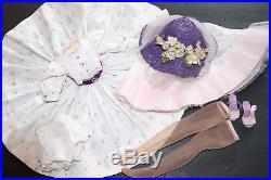 Vintage Madame Alexander Outfit Tagged Rare Cissy Dress Hat Slip Shoes Etc