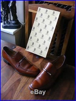 Vintage Men's Barker Pershore Leather Slip on Loafers Shoes UK 8.5 1/2 E EU 42.5