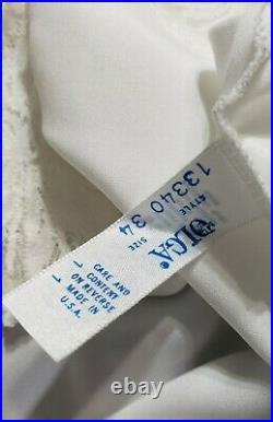 Vintage Olga Lingerie Chemise Gown Dress Slip Size 34 Retro Rare One of a Kind