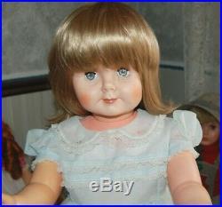 Vintage Penny Playpal Little Friend 30 Toddler Doll 1950s nylon dress slip etc