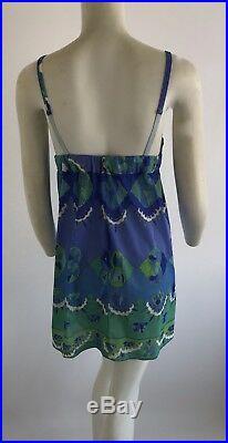 Vintage Pucci EPFR Formfit Rogers Slip Corset Mini Dress