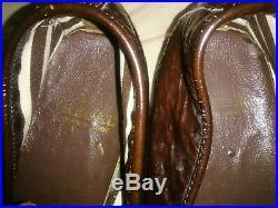 Vintage'REGAL/ British' Men's Size 8D, Wine-Patent Leather Slip-On Shoes. WOW