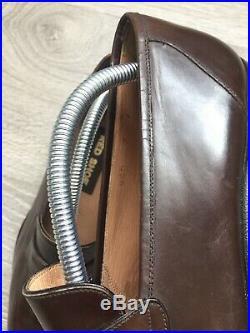 Vintage Red Shoe Leather Slip Ons