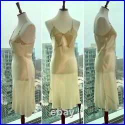 Vintage Slip Dress Lady Duff Slip Dress 30s Slip Dress 1930s Slip Dress