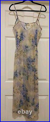 Vintage Spell & the Gypsy Collective Sweet Meadow Sheer Dress Sz 8 AU (S) withSlip