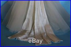 Vintage Tagged Madame Alexander Cissy Bride Dress Slip And Veil 1957 (No Doll)