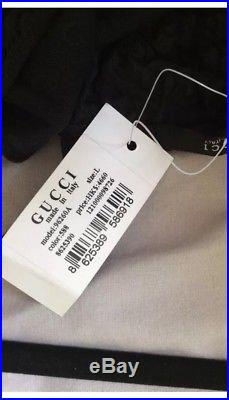 Vintage Tom Ford Gucci Runway 98 Black Mesh Slip GG Babydoll Dress Sz L BNIB