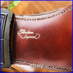 Vintage Unworn Florsheim Imperial 8e Burgundy Tassel Loafer Slip On Dress Shoe