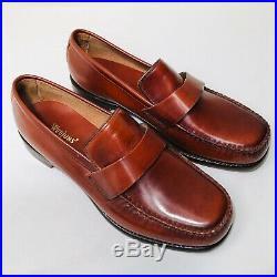 Vintage Unworn GH Bass Weejuns Brown Loafer Slip On -Size 9D
